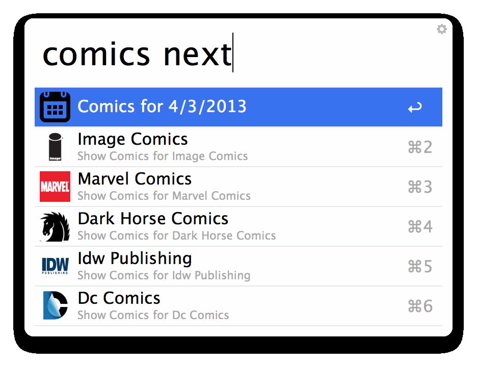 Next Weeks Comics